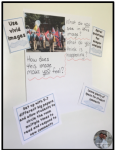 Suggestions and ideas for teaching controversial issues, such as Charlottesville, in the classroom by Naomi O'Brien of Read Like a Rock Star and Michele Luck of Michele Luck's Social Studies.