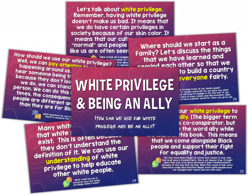 A White Families' Guide For Talking About Racism - Education With ...